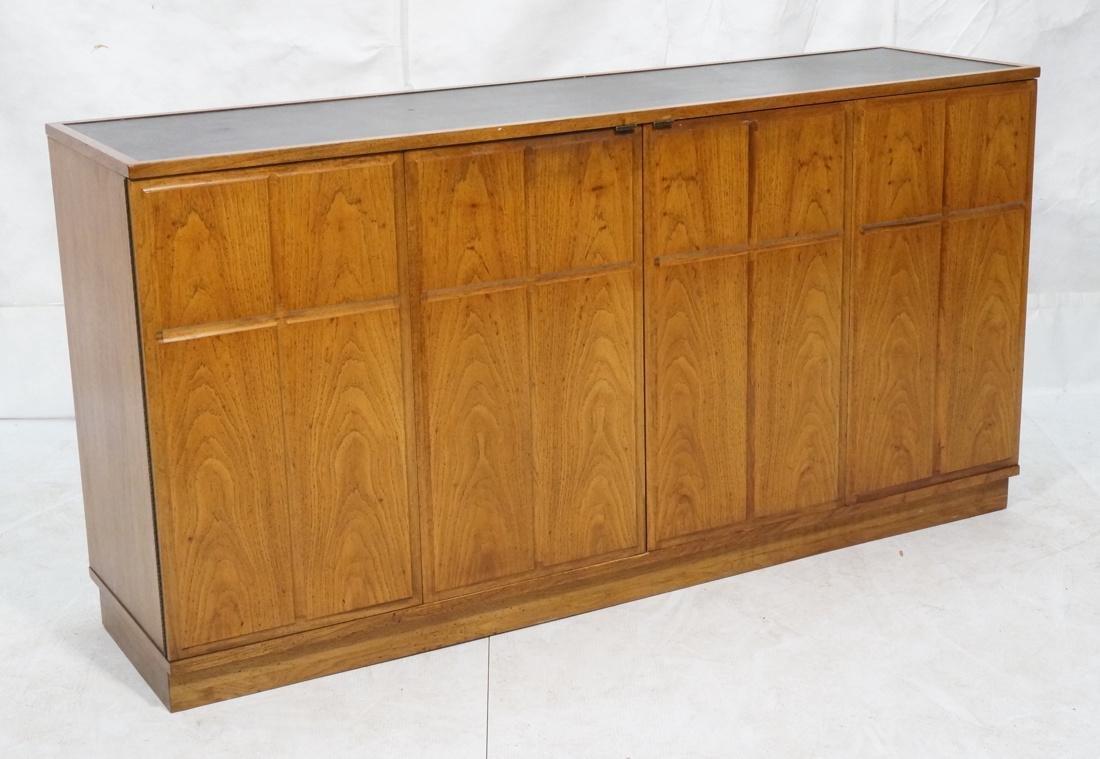 Modern Credenza Sideboard. Double bi-fold doors w