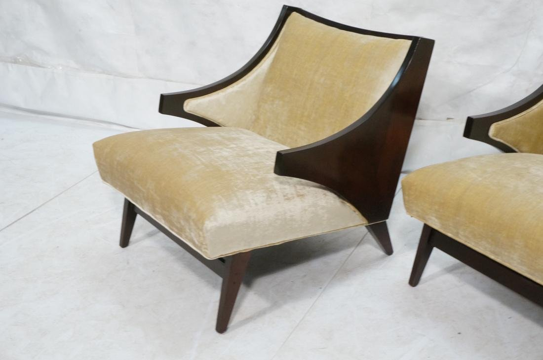 Pr Donghia style Modernist Lounge Chairs. Stylish - 3