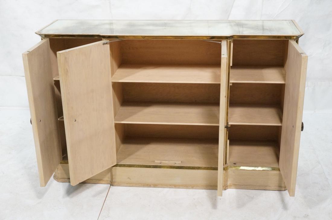 Decorator Eglomise Four Door Mirrored Cabinet. Cr - 3