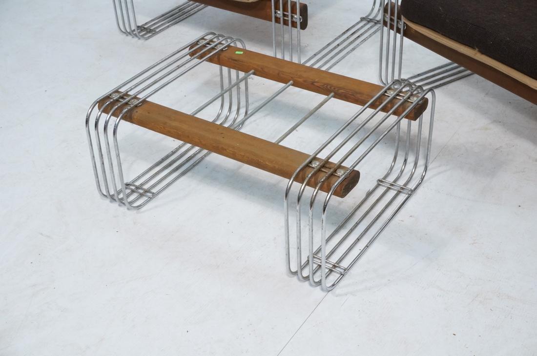 3pc ROBERT HAUSMANN  Seating Set. Love Seat, Loun - 3