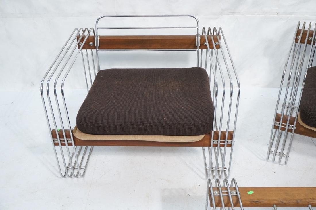 3pc ROBERT HAUSMANN  Seating Set. Love Seat, Loun - 4