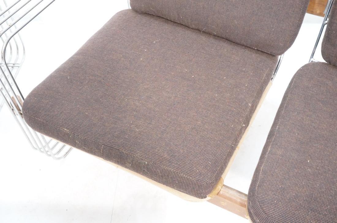 3pc ROBERT HAUSMANN  Seating Set. Love Seat, Loun - 6