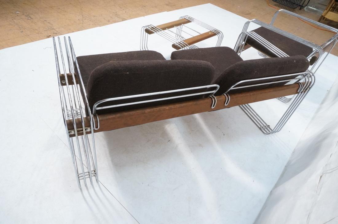 3pc ROBERT HAUSMANN  Seating Set. Love Seat, Loun - 7