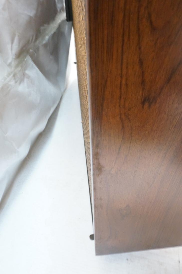 Pr Rosewood Cube Form End Side Tables. Both sides - 5