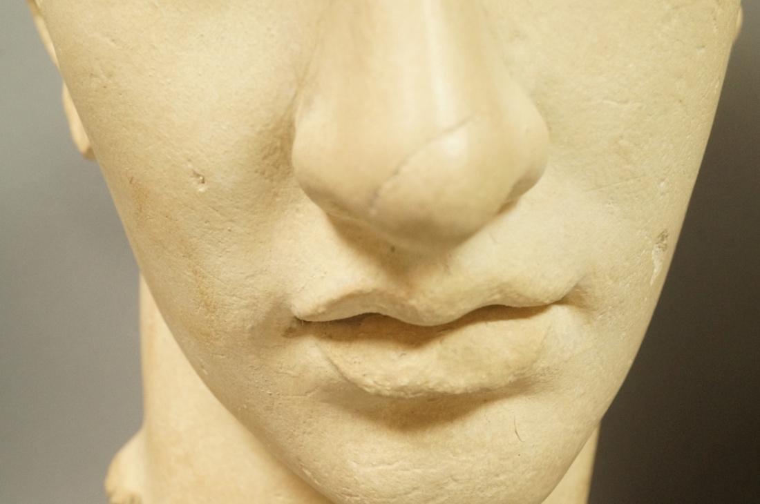 3 Pc Roman Antiquity Reproduction Sculpture. 2 bu - 7