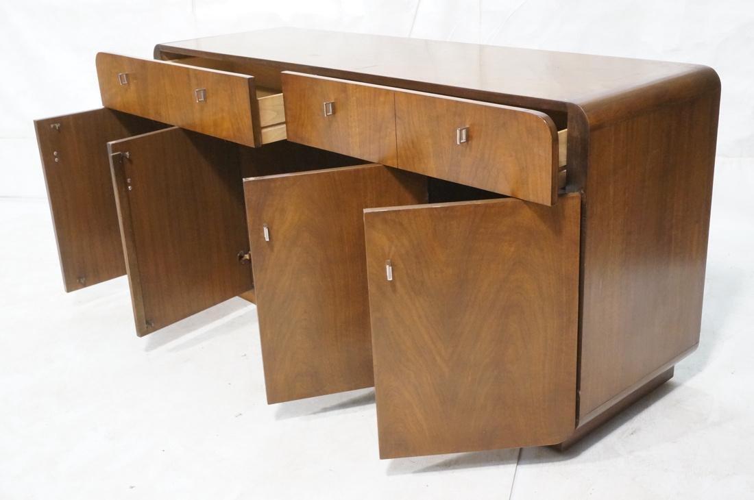 FOUNDERS American Modern Walnut Modernist Credenz - 2