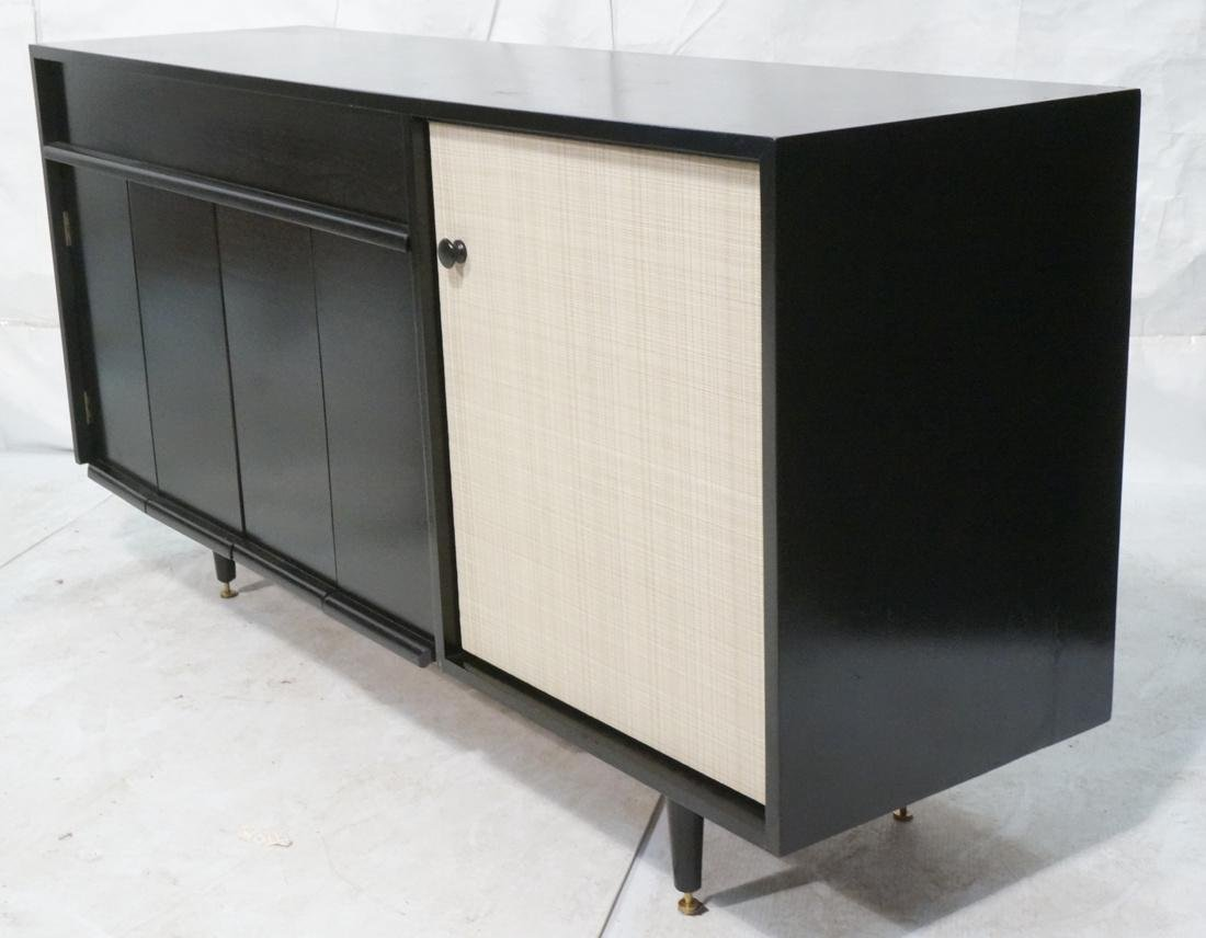 Baughman for Glenn of CA Black Modernist Credenza