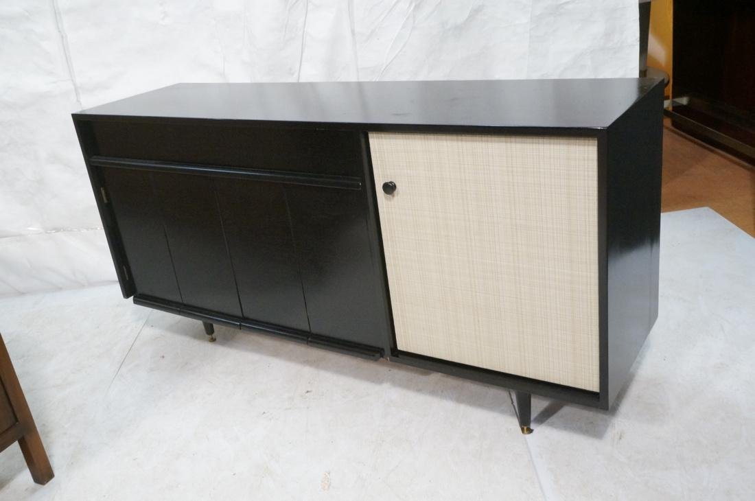 Baughman for Glenn of CA Black Modernist Credenza - 5