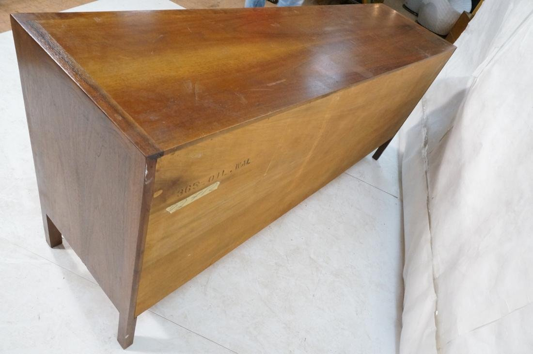 JOHN STUART Modern Walnut Credenza. JANUS Collect - 10