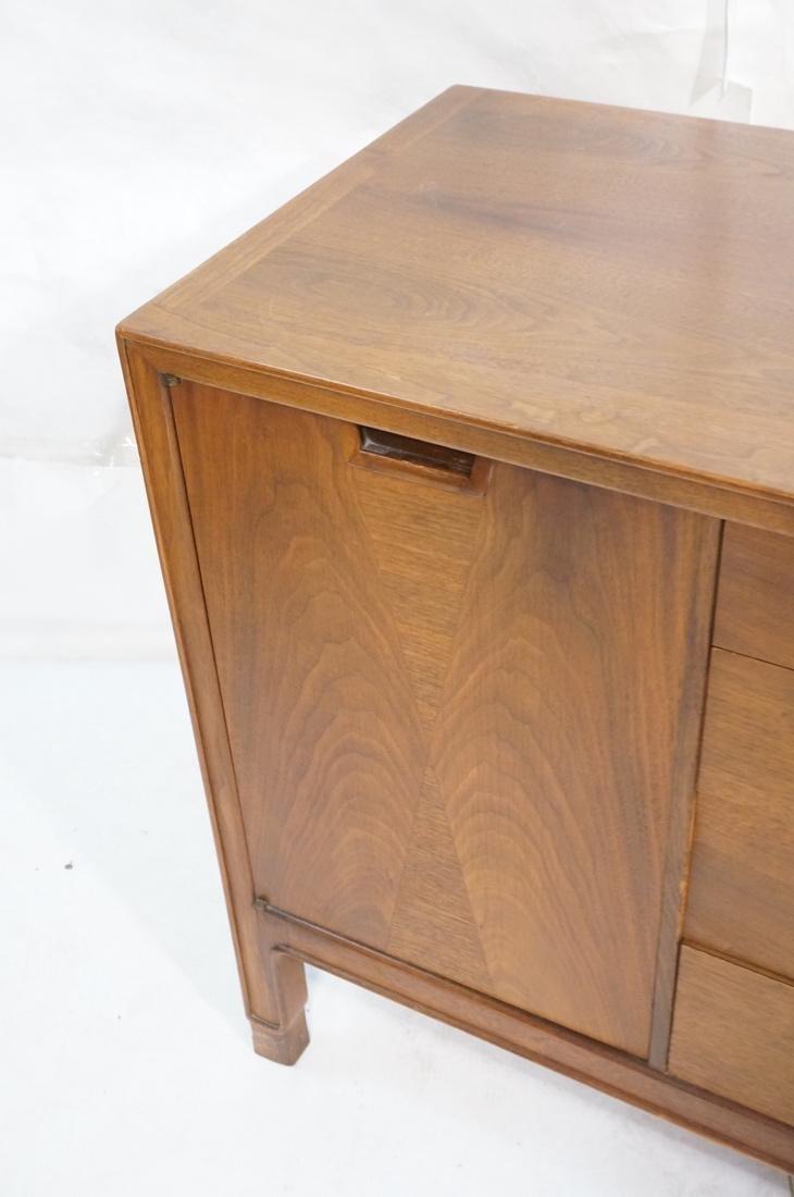 JOHN STUART Modern Walnut Credenza. JANUS Collect - 6