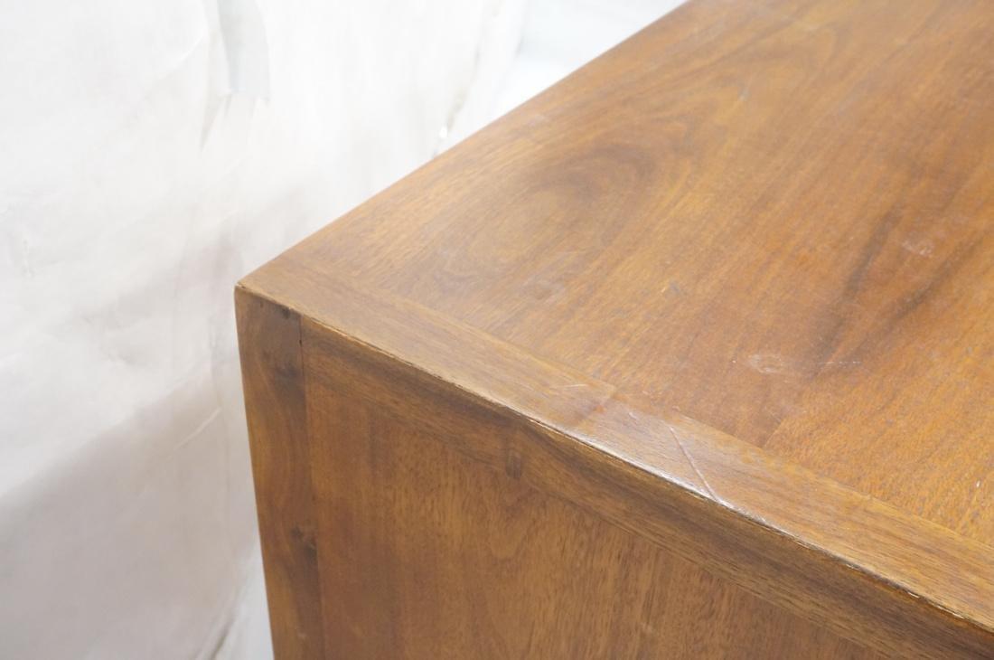 JOHN STUART Modern Walnut Credenza. JANUS Collect - 7