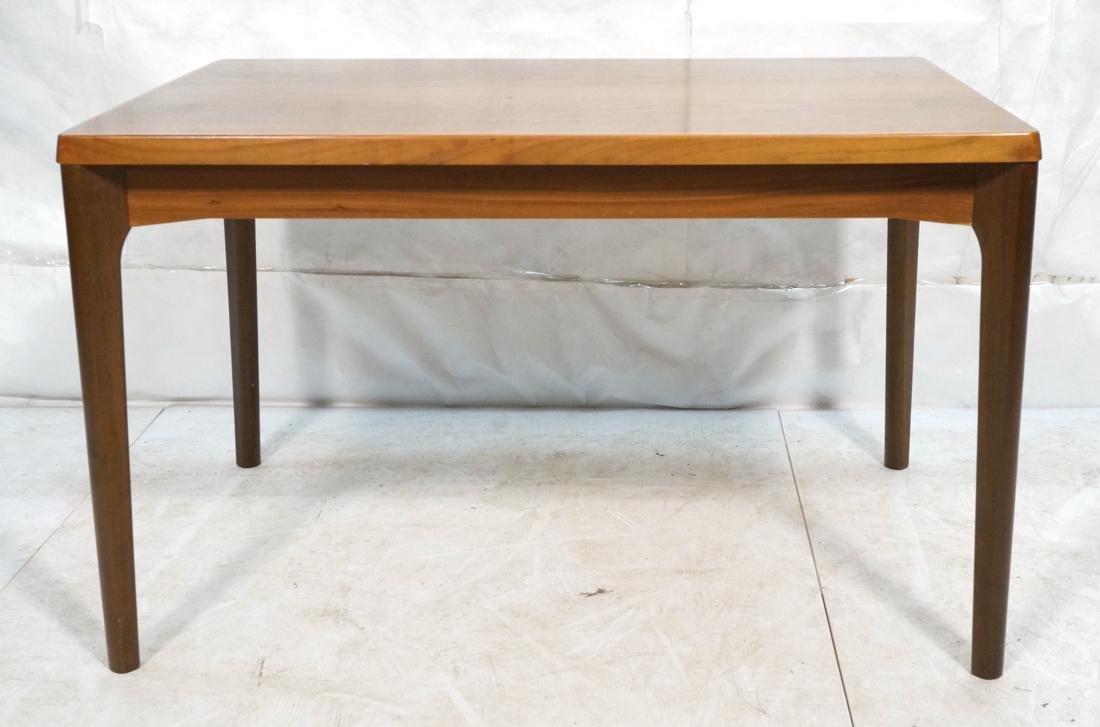 Danish Teak Refractory Table STOLE. Legs set at 4