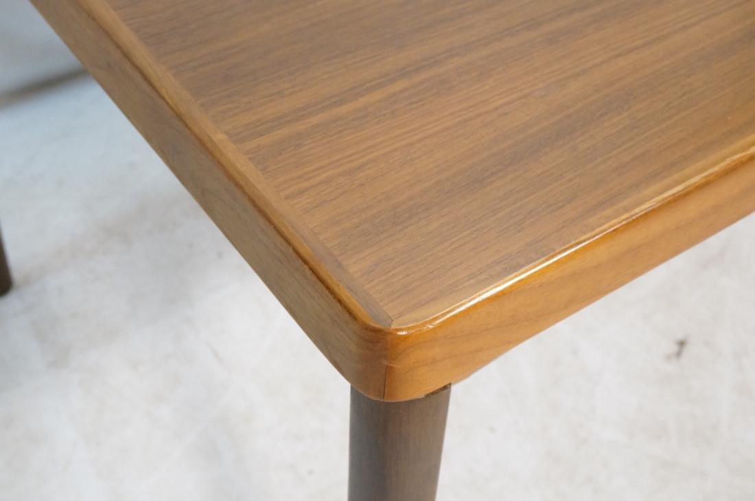 Danish Teak Refractory Table STOLE. Legs set at 4 - 3