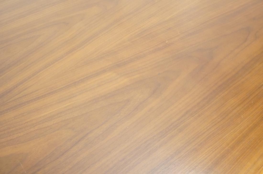 Danish Teak Refractory Table STOLE. Legs set at 4 - 4
