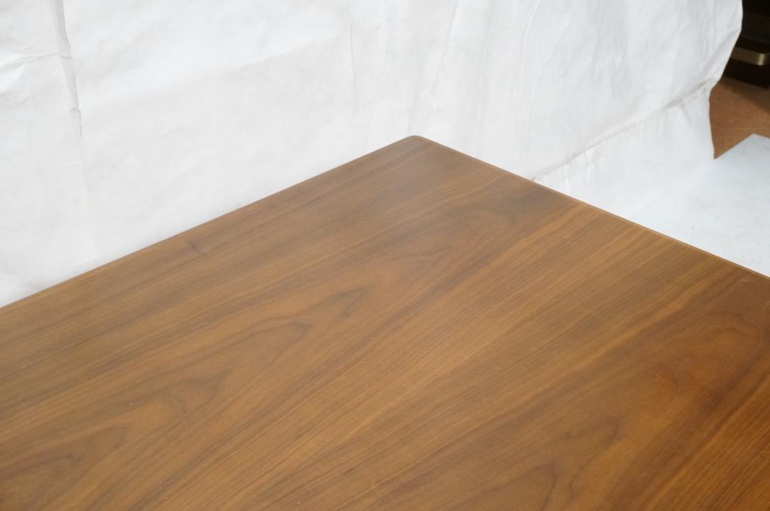 Danish Teak Refractory Table STOLE. Legs set at 4 - 5