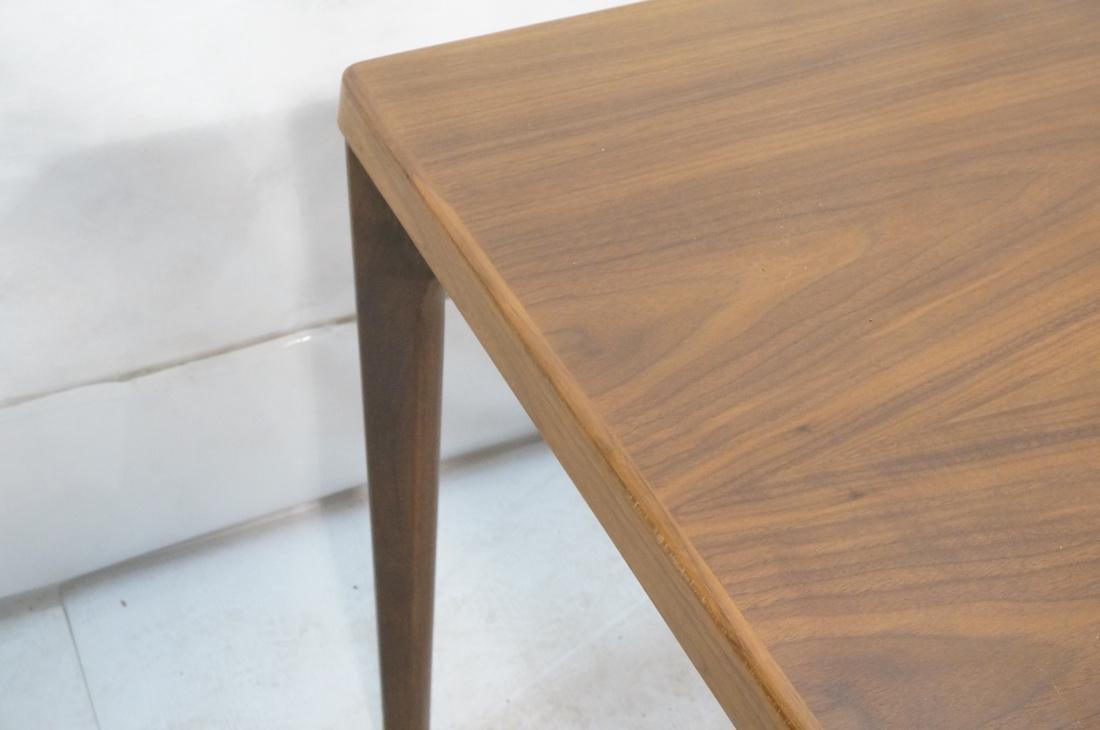 Danish Teak Refractory Table STOLE. Legs set at 4 - 6