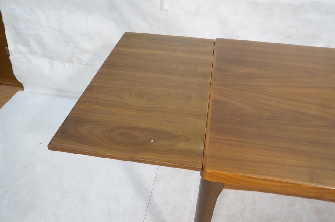 Danish Teak Refractory Table STOLE. Legs set at 4 - 8