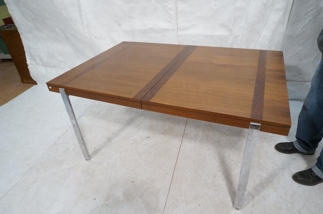 American Modern Rosewood Trim Dining Table Wide C - 6