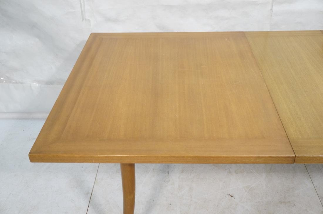 HARVEY PROBBER Banded Dining Table. Blond Maho - 2