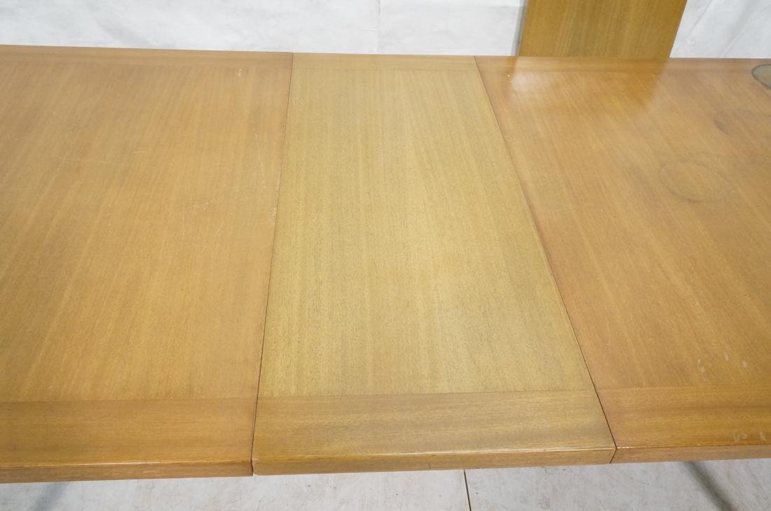 HARVEY PROBBER Banded Dining Table. Blond Maho - 4