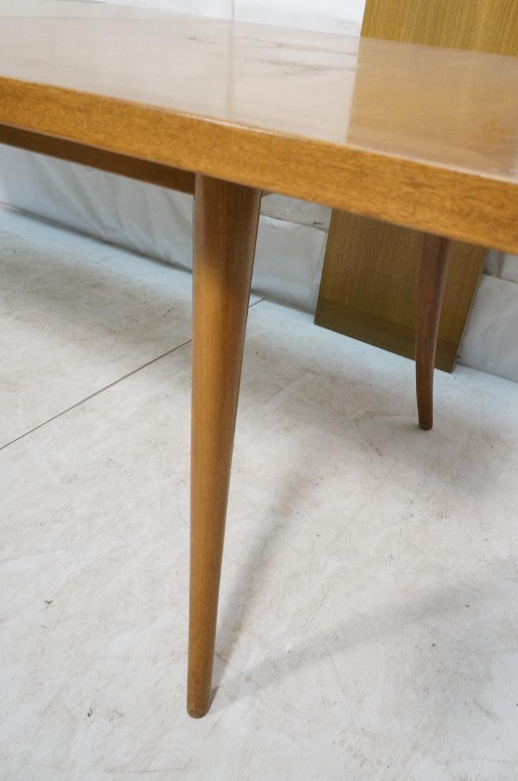 HARVEY PROBBER Banded Dining Table. Blond Maho - 6