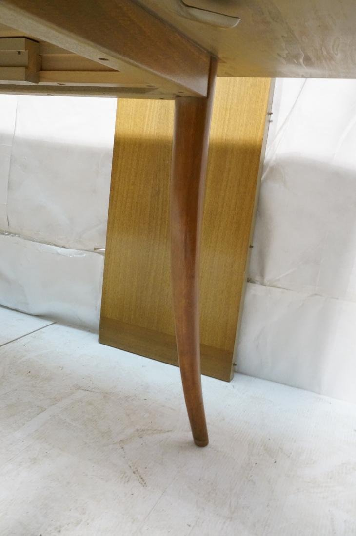 HARVEY PROBBER Banded Dining Table. Blond Maho - 7