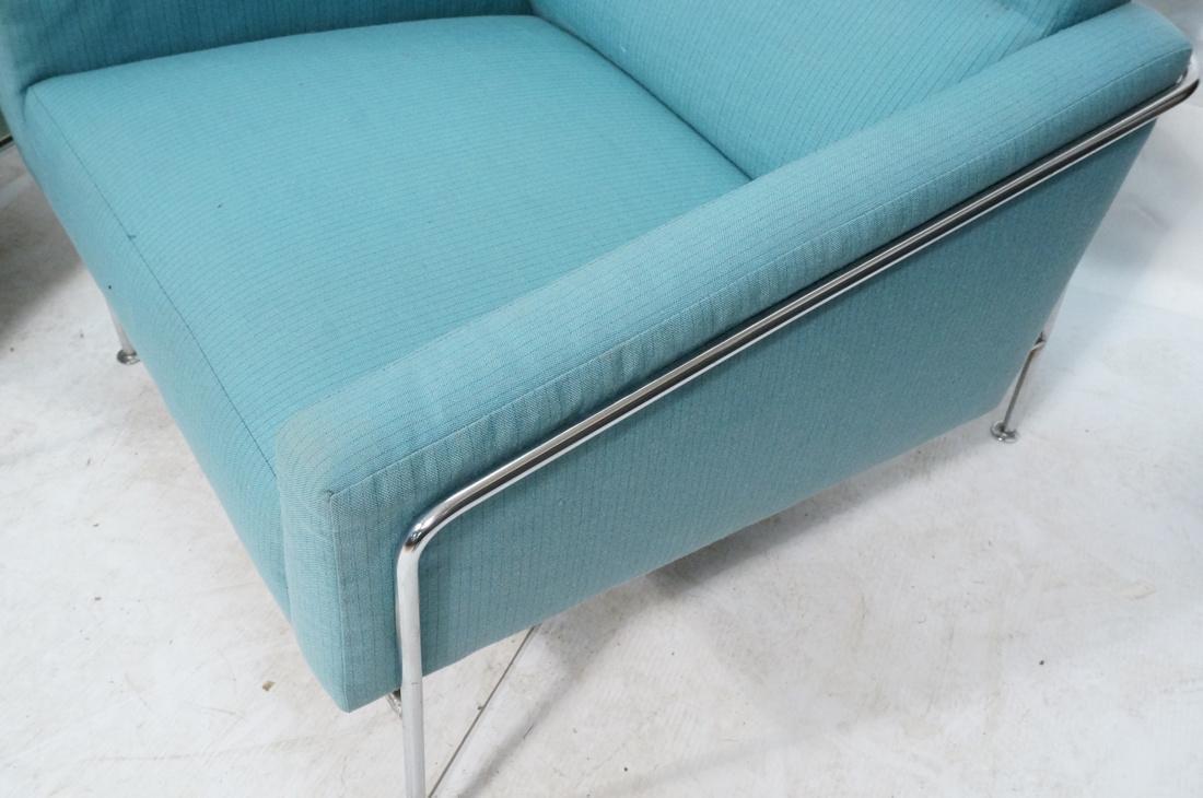 FRITZ HANSEN by ARNE JACOBSEN 2pc Sofa Lounge Cha - 3