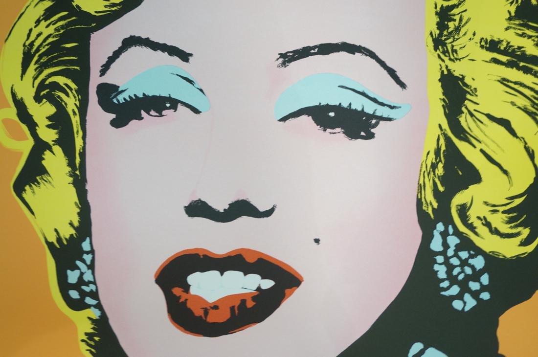 ANDY WARHOL MARILYN MONROE Lithograph Print. Andy - 4