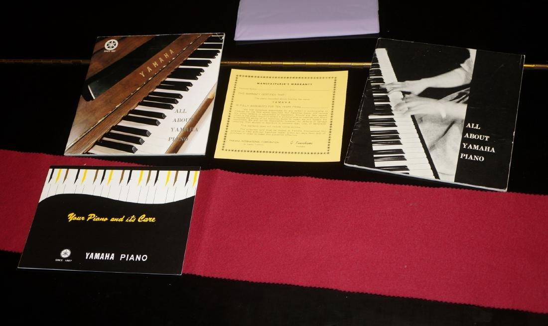 YAMAHA G2 Ebony case Baby Grand piano with matchi - 10