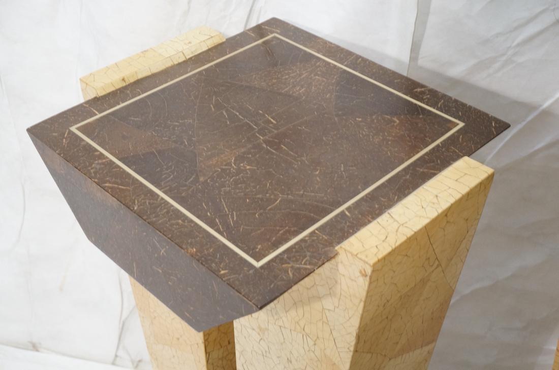 Pr Decorator Coconut Shell Pedestals. Two support - 2
