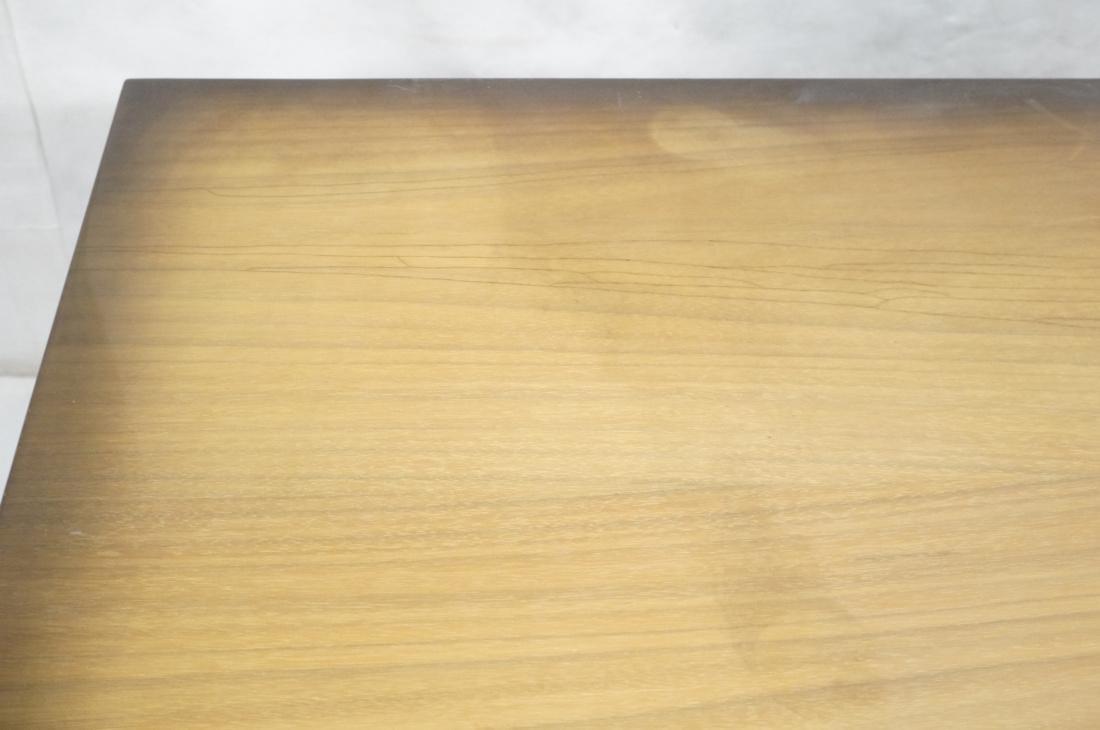 Italian Style Blond Wood Tambour Door Credenza Si - 6