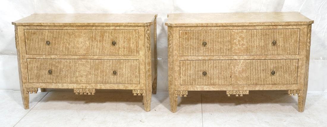 Pr Decorator 2 Drawer Cabinets Chests. Decorative