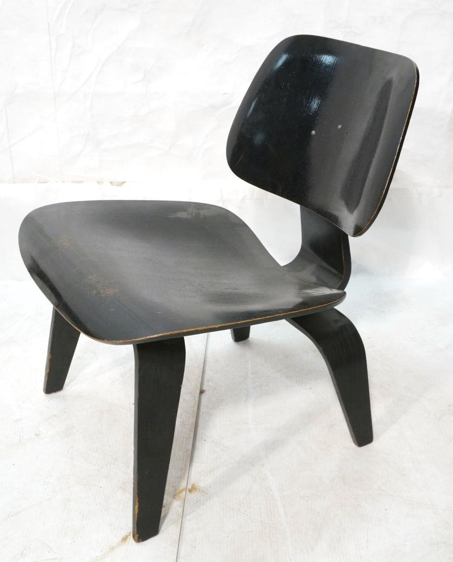 Ebonized LCW by CHARLES EAMES Lounge Chair. Marke
