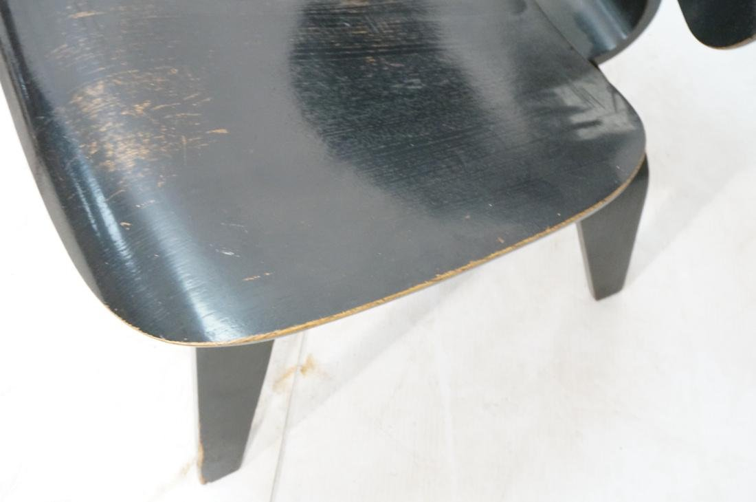 Ebonized LCW by CHARLES EAMES Lounge Chair. Marke - 4