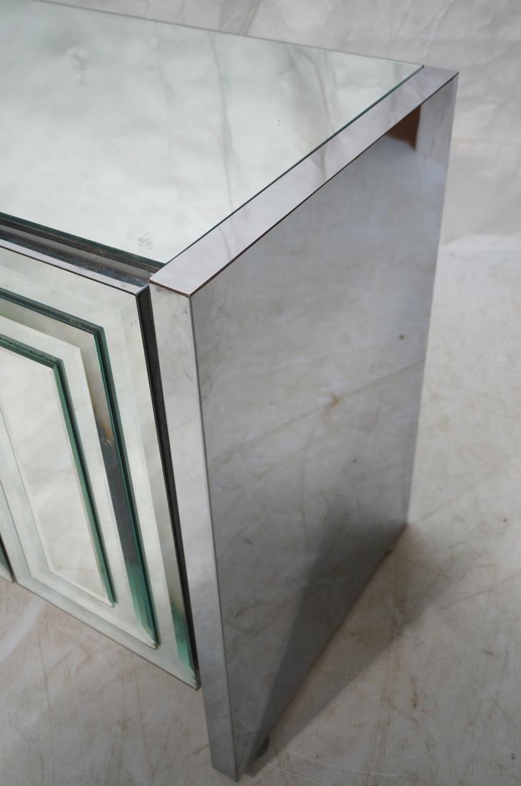 ELLO Mirrored 6 Door Credenza Sideboard. Doors wi - 2