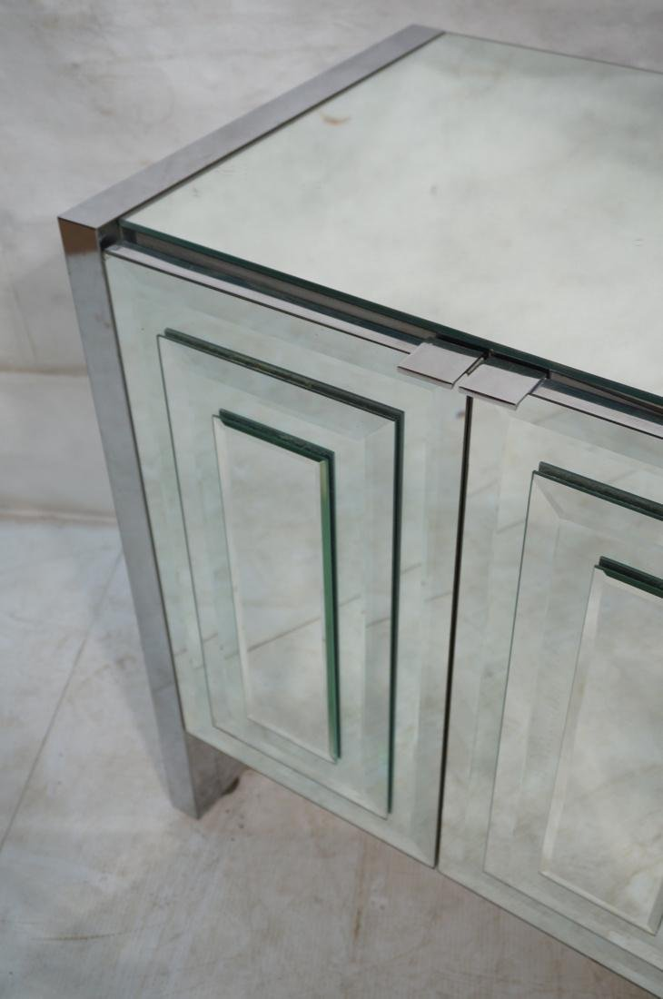 ELLO Mirrored 6 Door Credenza Sideboard. Doors wi - 3