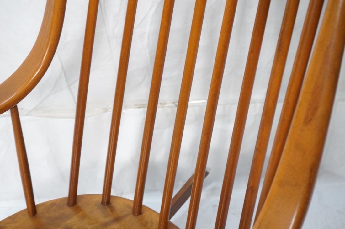 Modern Tall Back Spindle Rocker Rocking Chair - 3