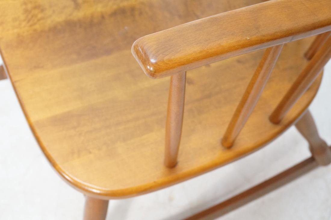 Modern Tall Back Spindle Rocker Rocking Chair - 4