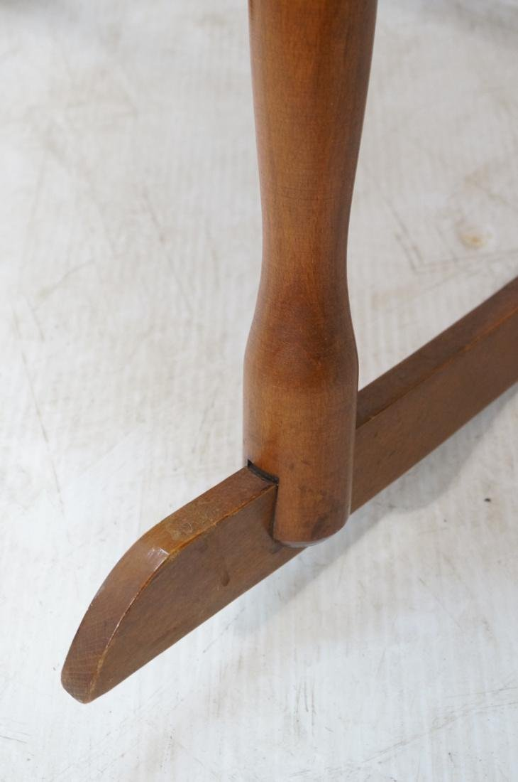 Modern Tall Back Spindle Rocker Rocking Chair - 5