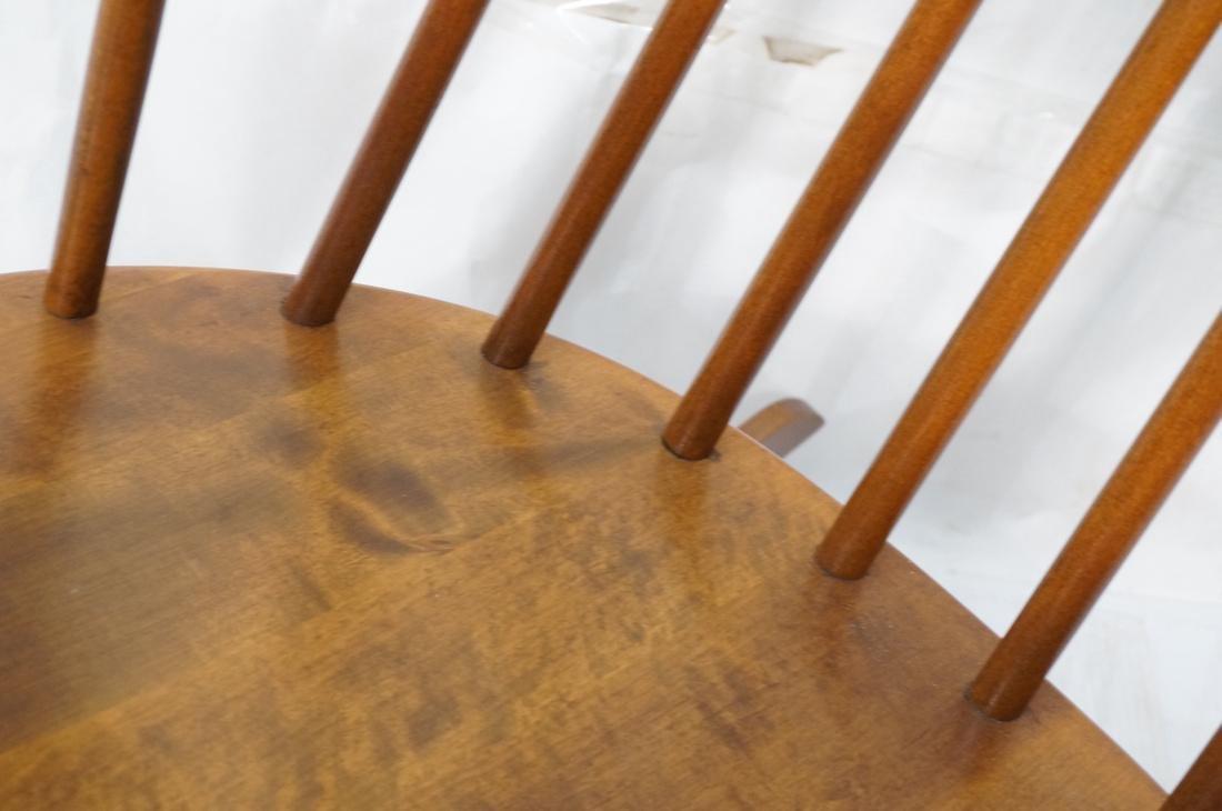 Modern Tall Back Spindle Rocker Rocking Chair - 8