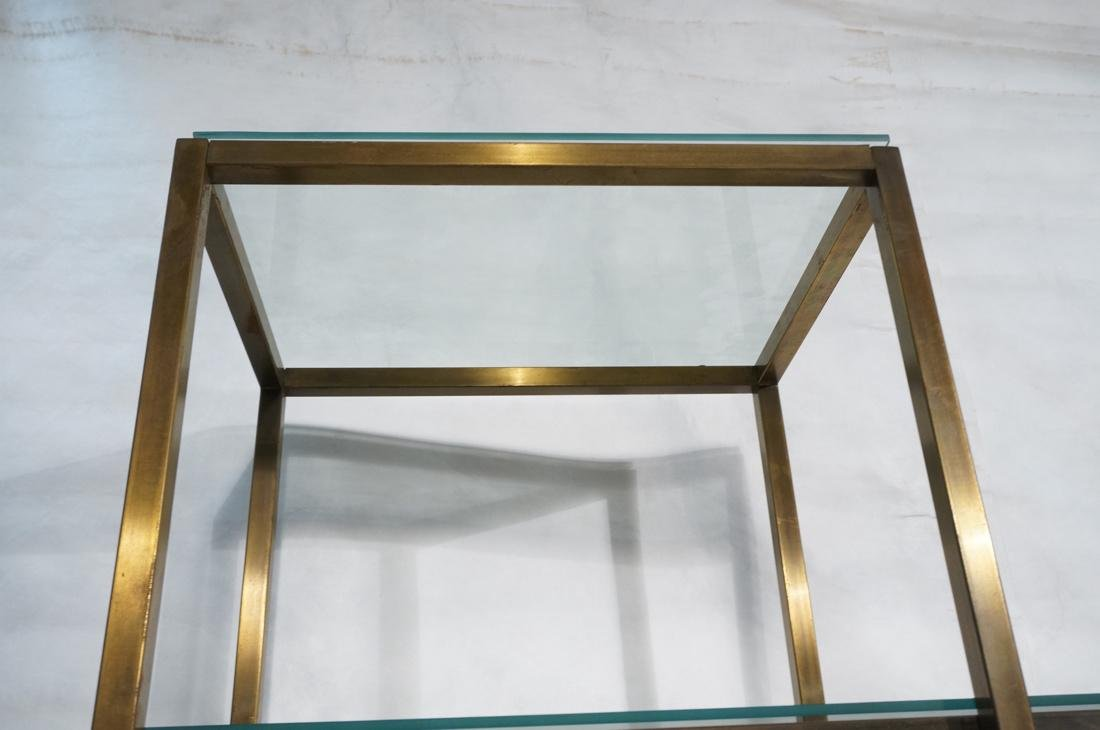 2 pc Modernist Hutch Credenza Sideboard 1) Eboniz - 2