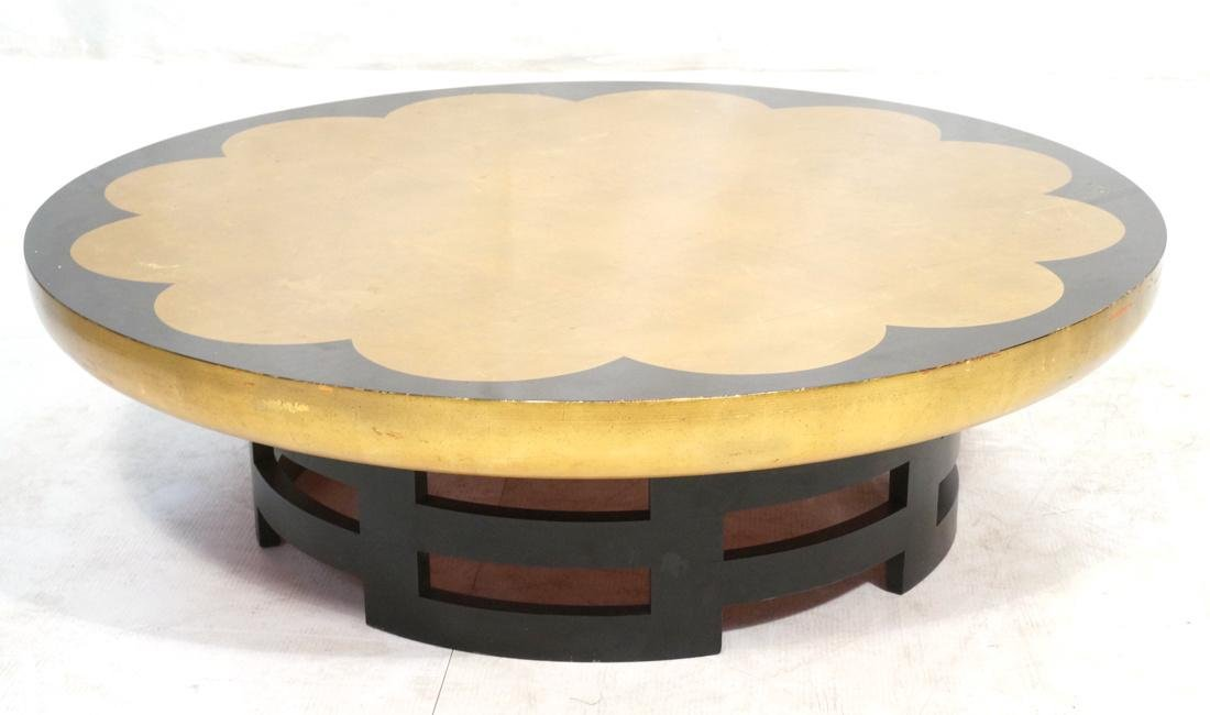 KITTINGER Coffee table, USA, 1950s; Lacquered woo