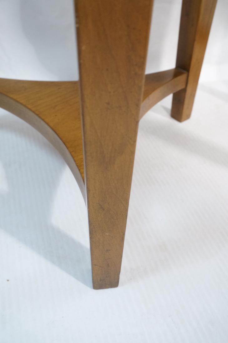 Pr BAKER Tripod Decorator Side Tables. Round blac - 5