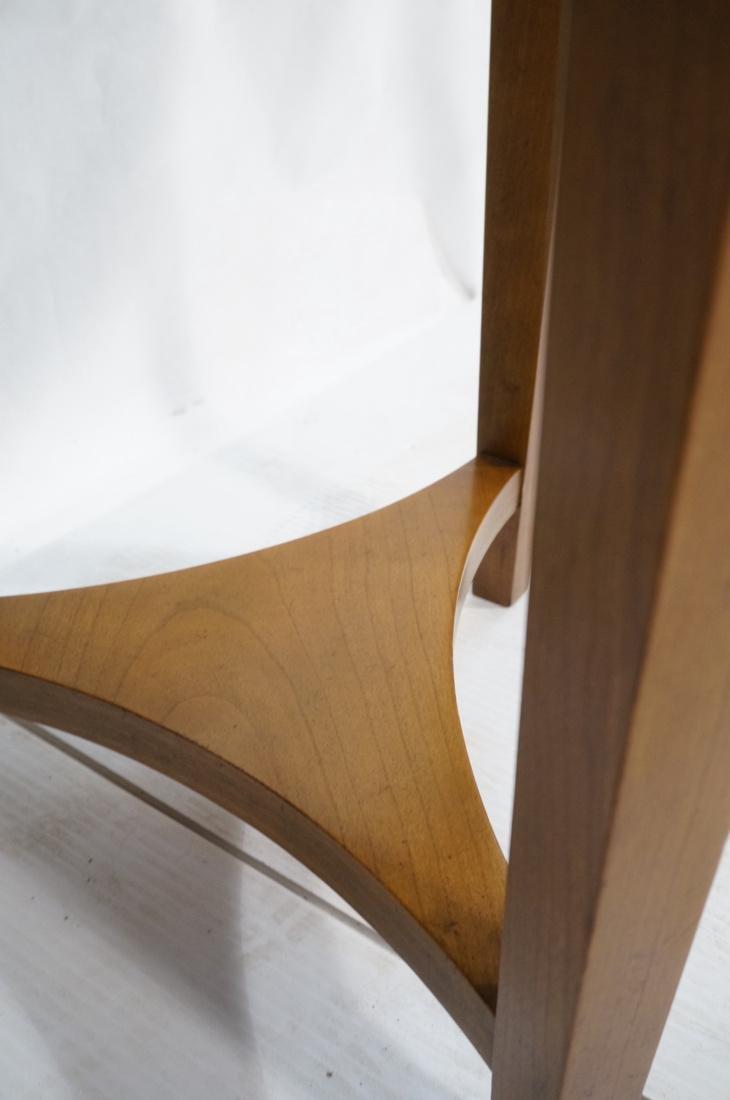 Pr BAKER Tripod Decorator Side Tables. Round blac - 6