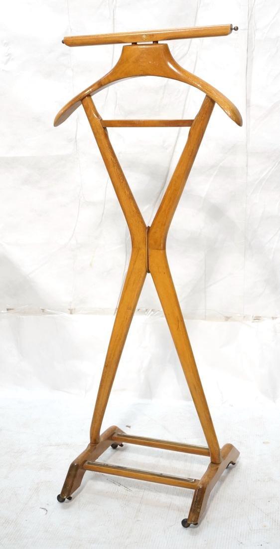 Italian Style Modernist Valet on Casters.