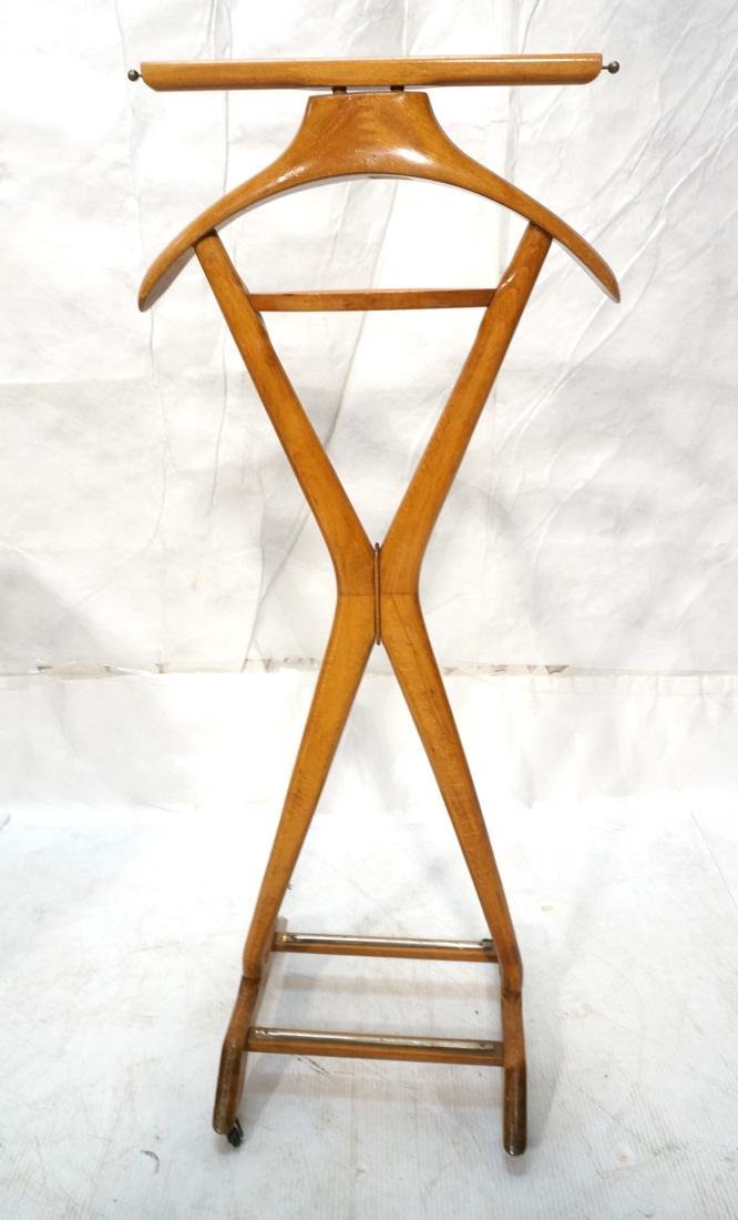 Italian Style Modernist Valet on Casters. - 9