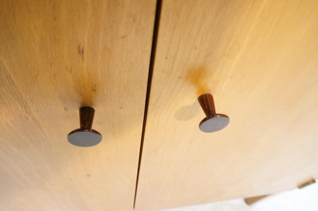 PAUL McCOBB Maple Cabinet Credenza. 3 slim drawer - 10
