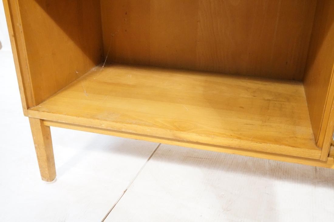 PAUL McCOBB Maple Cabinet Credenza. 3 slim drawer - 4
