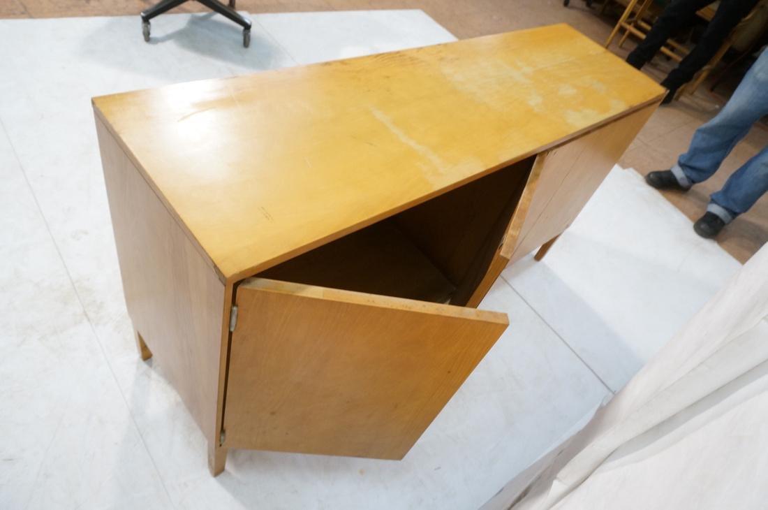 PAUL McCOBB Maple Cabinet Credenza. 3 slim drawer - 5