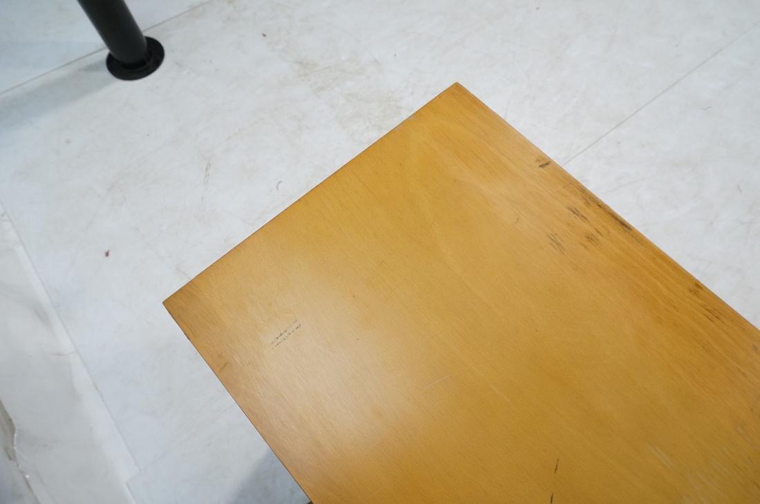 PAUL McCOBB Maple Cabinet Credenza. 3 slim drawer - 7